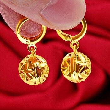 14 K Yellow Gold Jewelry Drop Earring Jewelry K-Gold Jewelry