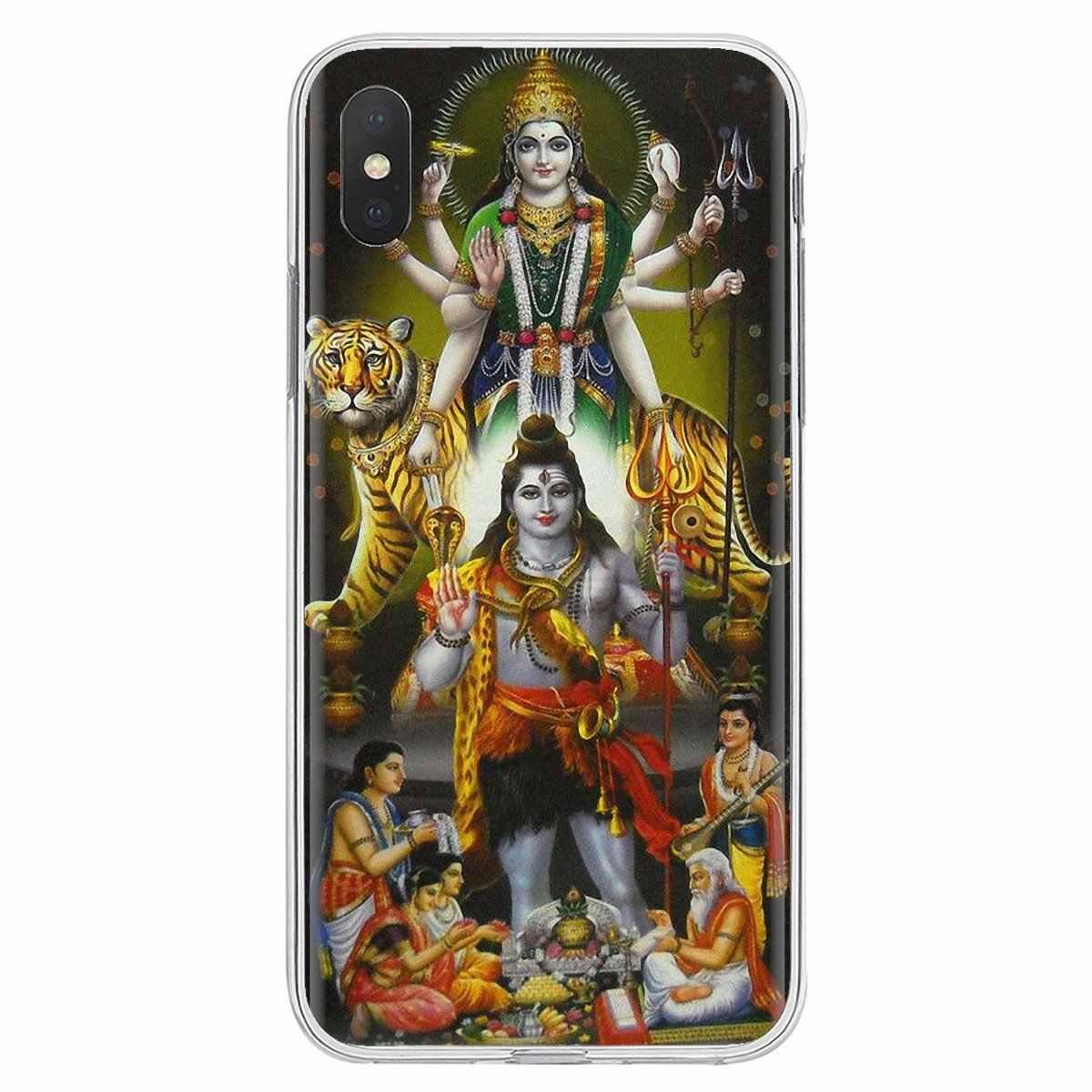 Para zte lâmina a520 a512 a452 a602 a5 2019 v6 v7 v8 v9 v10 lite viat doce silicone caso do telefone índia deus hindu shiva equitação nandi