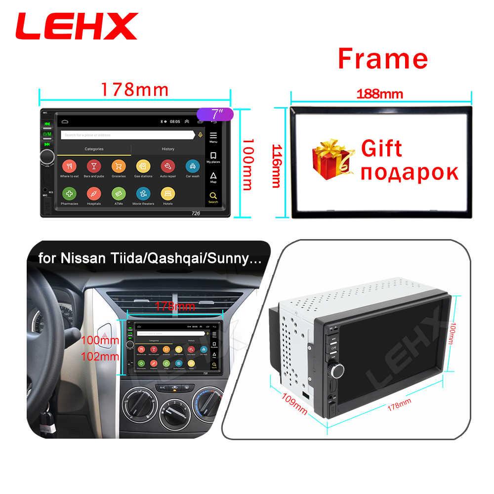 2 DIN Mobil Radio Android 9.0 RAM 2GB Auto Radio Multimedia Player untuk Nissan Hyundai Kia Toyata Chevrolet Ford Suzuki mitsubishi