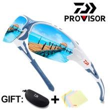 Daiwa-gafas De Sol polarizadas para hombre, lentes De Sol polarizadas para pescar, conducir, deporte De ciclismo, equipo De pesca