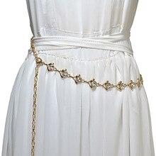 Fashion Belly diamond Chain Belt Waist Beach Sexy Body Belt