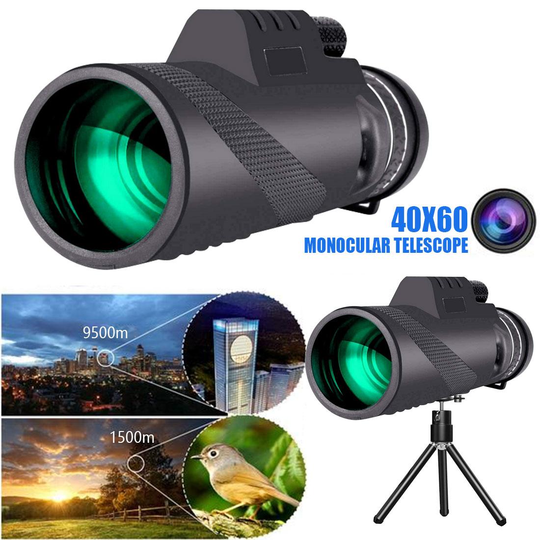 40x60 монокулярный телескоп ночного видения высокое качество зеленая пленка оптический охотничий туризм телескоп дальний зум|Телескоп и бинокли|   | АлиЭкспресс