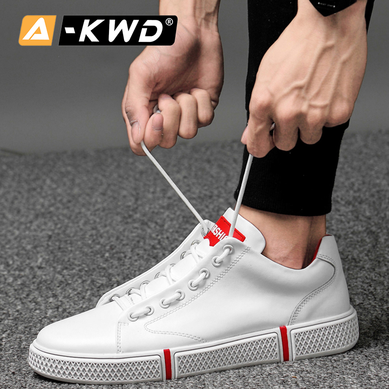 US $37.81 45% OFF Fashion Breathable Black Shoes Holes Herren Schuhe Sneakers Men 2019 Size 36 46 Elevator Shoes for Men Genuine Leather Shoes Men in