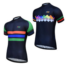 цена на New Cycling Jersey Men Breathable MTB Bike Jersey Shirt Maillot Ciclismo Short Sleeve Pro Team Cycling Clothing  Bicycle Shirts