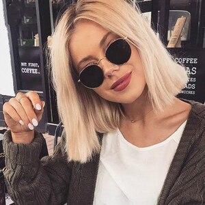 2021 классические маленькие круглые солнцезащитные очки в оправе женские/мужские брендовые дизайнерские зеркальные солнцезащитные очки из сплава винтажные модные очки