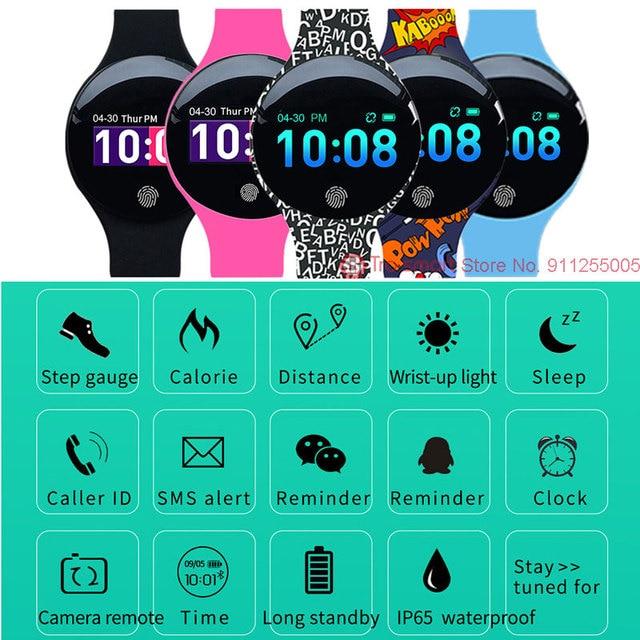 Digital Children Watch Kids Watches For Girls Boys Wrist Watch Child Students Clock Electronic Sport Wristwatch Tro-smart Brand 6