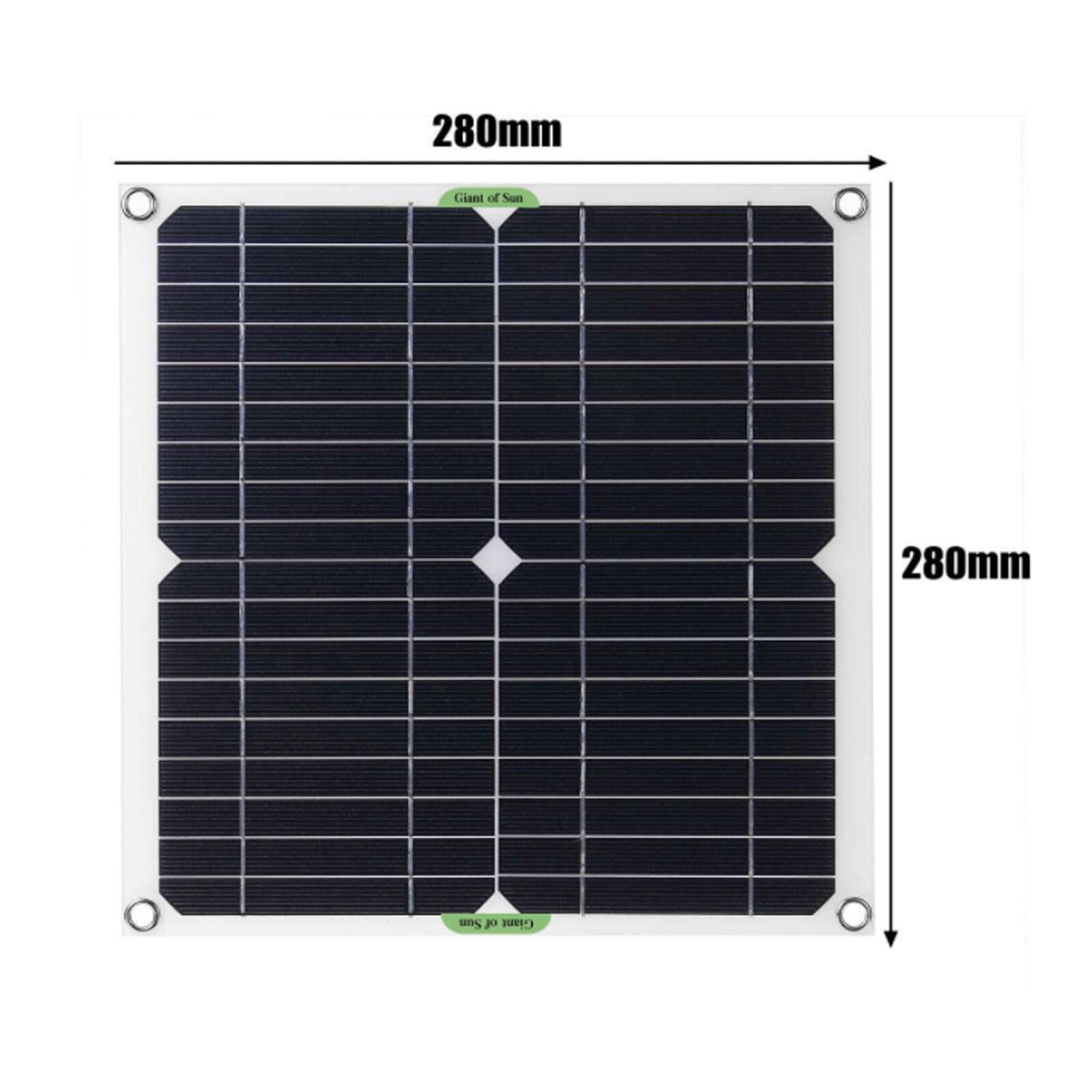 preto 200w painel solar kit 12v controlador 04