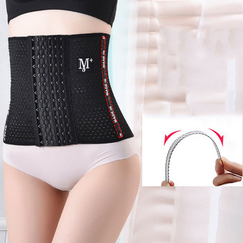 Waist trainer tummy Shaper Girdle pulling corset slimming underwear Belt shapewear Wide body shaper modeling strap binder Corset