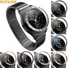 Watch Dial Bezel Ring For Samsung Gear S2 classic Anti Scratch Metal Sticker Protection Adhesive Cover