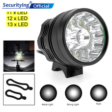 SecurityIng Bicycle Headlight 12000LM 13 x XM-L T6 LED Flashlight Bike Bicycle Lamp Bike Light Headlight Cycling Torch