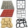 Форма для садового дорожного покрытия «сделай сам», ручная форма для мощения, цемента, кирпича, дороги, бетона, многоразовые формы для мощен...