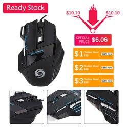 Warna-warni Bersinar Gaming Mouse Cocok Profesi Pemain Perdagangan Luar Negeri Retail Penjualan Panas Penjualan Langsung Produsen.
