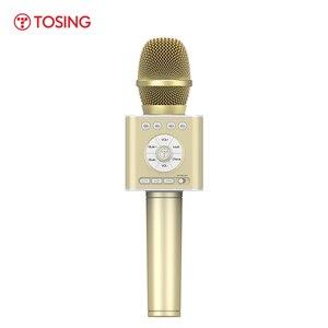 Image 1 - TOSING altavoz Q12 con micrófono para Karaoke, para coche, KTV, coro, fiesta, regalo de Navidad, Bluetooth, reproductor USB