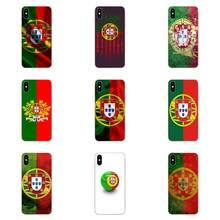 Soft New Style Portuguese Flag Mobile For Xiaomi Redmi Mi 4 7A 9T K20 CC9 CC9e Note 7 9 Y3 SE Pro Prime Go Play(China)