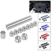 лучшая цена YEAHGOOD Aluminum 1 / 2-28 5 / 8-24 car fuel filter 1X6 car solvent trap for NAPA 4003 WIX 24003 WLR-AFF01-6