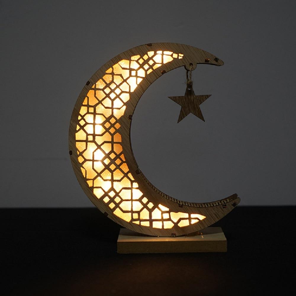 Stereo palace lamp LED Eid Mubarak Decorative String Lights Ramadan Kareem Decoration Accessories Muslim Islam