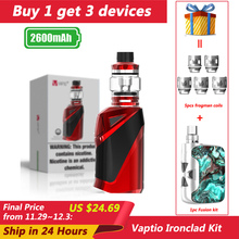 Gift 5pc Coil Vaper Kit Vaptio Ironclad Kit 2600mA