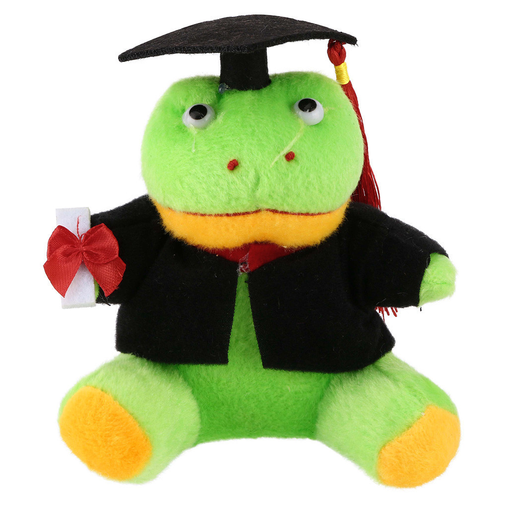 Cartoon Plush Toy Dog Monkey Panda Crocodile Animal Stuffed Toys Students Graduation Gift Toy Ornaments Christmas Toys #A