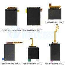 Wyświetlacze LCD dla iPod Nano 5th 6th 7th generacji zamiennik ekranu wyświetlacza LCD części dla iPod Nano 2 3 4 5 6 7 Gen ekran LCD