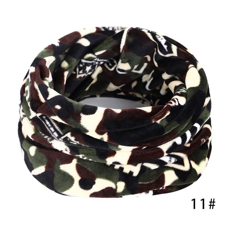 Новинка, осенне-зимний женский шарф с принтом для женщин, модный бархатный тканевый шарф, мягкий удобный женский винтажный шарф - Цвет: 11