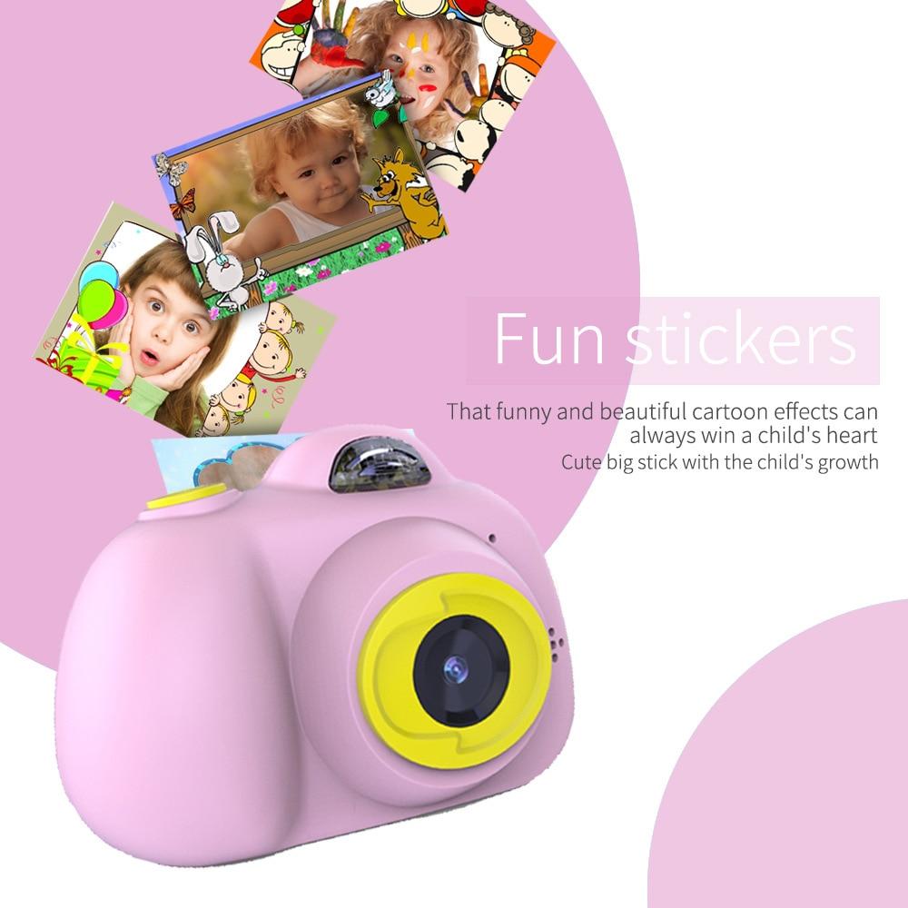 H097fae93bbd745edb43098625d20c00eG KIds Camera HD Child Camera Mini Digital Toy Camera Photography Children Educational Toddler Toy Photo Camera For Children Gifts