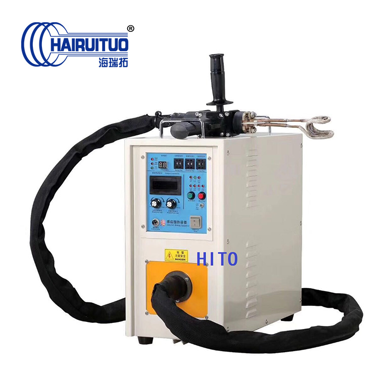 Hand-held welding high frequency machine for welding copper pipe , portable induction heating equipment