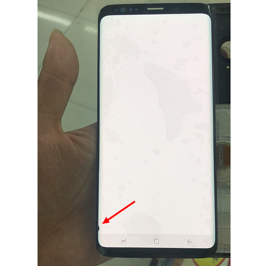<font><b>S8</b></font> LCD AMOLED For <font><b>SAMSUNG</b></font> Galaxy <font><b>S8</b></font> LCD <font><b>Screen</b></font> Replacement LCD Touch Digitizer Assembly G950F G950 Black Spot <font><b>S8</b></font> <font><b>Display</b></font> image