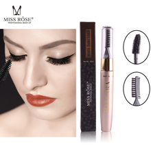MISS ROSE Waterproof Multi-function Mascara Natural Thick Curling Quick-drying Does Not Smudge Knotted Black