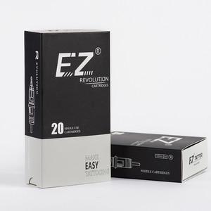 Image 5 - EZ מהפכה קעקוע מחטי מחסנית עגול ספינות #08 0.25mm עבור מחסנית מכונת ואוחז 20 יח\קופסא