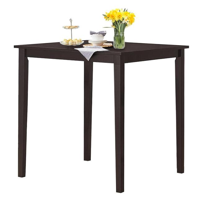 Square Dining Table w/Rubber Wood Legs 35.5 1