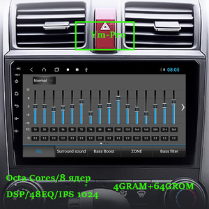 Image 3 - 4G RAM/Eight Core/Android Car Multimedia Player For Honda CRV 3 2006 2011 2008 With Gps IPS Screen Wifi Bluetooth AHD Camera