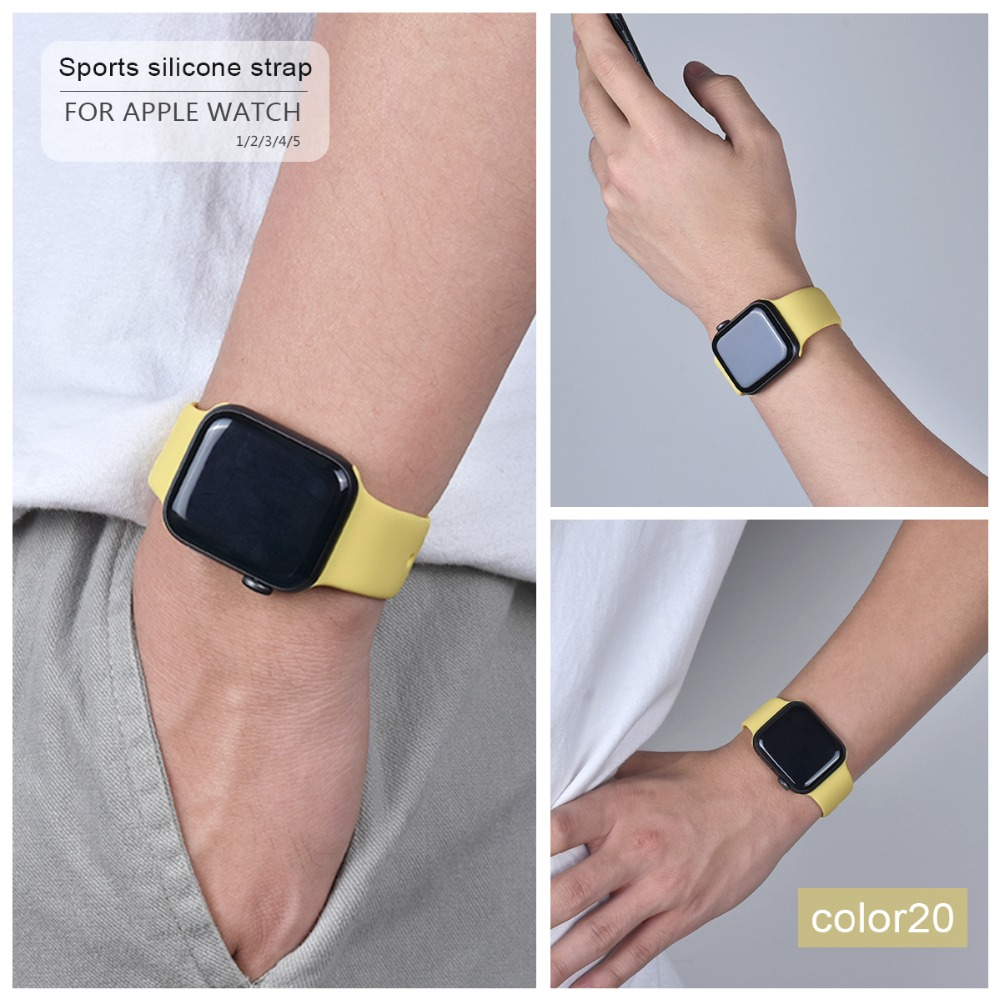 Soft Silicone Band for Apple Watch 83