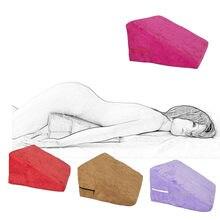 Erótico bdsm sexo magia almofada do sofá hold almofada cama adulto jogos brinquedos sexuais para as mulheres sex aid cunha posição amortecida travesseiro Sexe-30