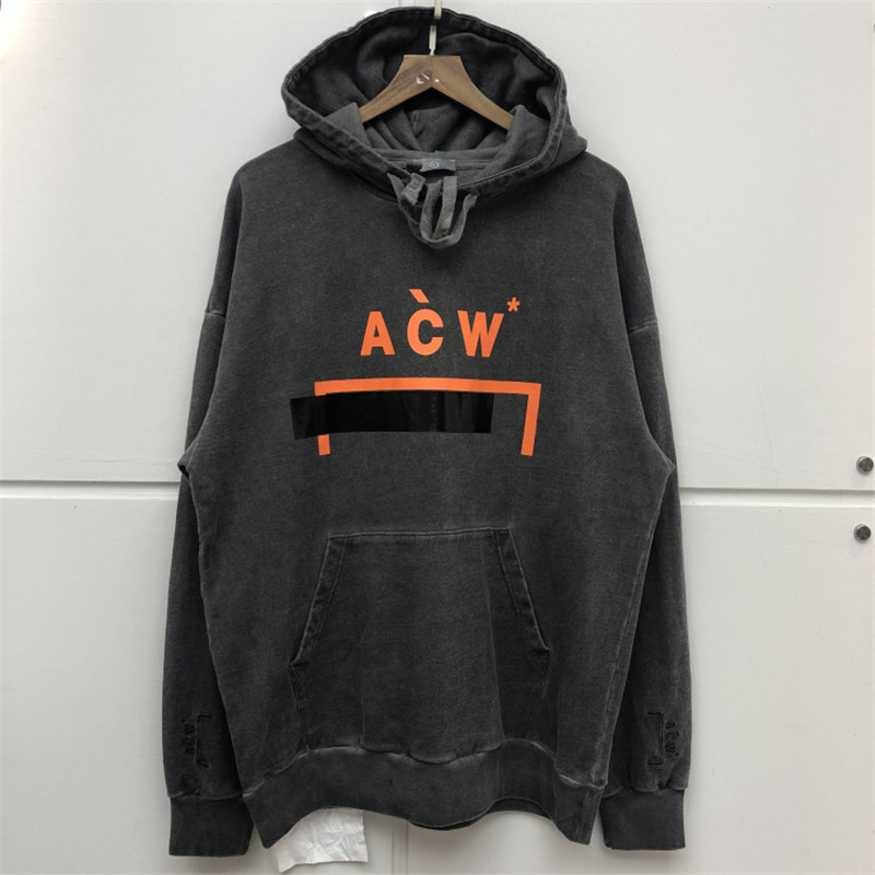 New A COLD WALL Hoodies Men Women Streetwear High Quality Embroidery Thick Retro Do Old Sweatshirt A COLD WALL ACW Hoodie in Hoodies amp Sweatshirts from Men 39 s Clothing