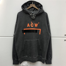 New A-COLD-WALL Hoodies Men Women Streetwear High Quality Embroidery Thick Retro Do Old Sweatshirt ACW Hoodie