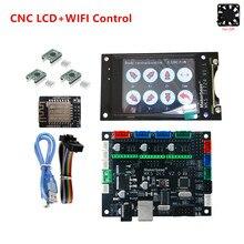 Plato de expansión GRBL V1.1, placa base MKS DLC v2.0, pantalla LCD sin conexión CNC, reemplazo de pantalla cnc shield v3 UNO R3 CNC 3018 PRO, kit de actualización