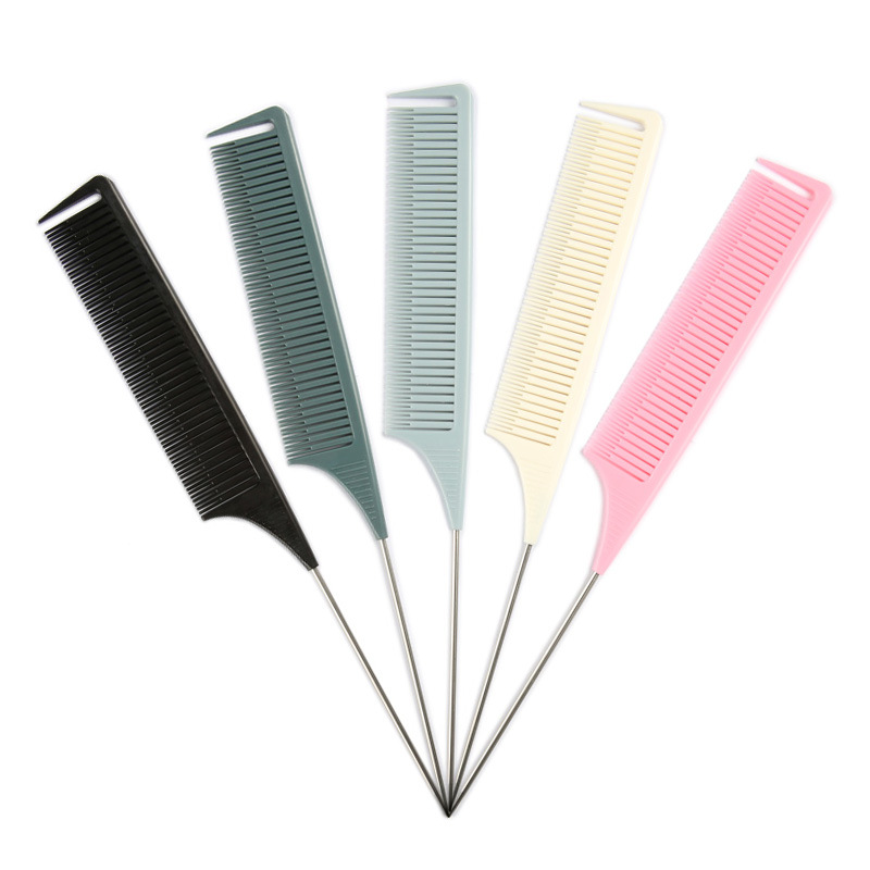 Расческа для волос для подсветки, расческа для волос из АБС-пластика для салона, расческа для окрашивания волос, прямая расческа для волос