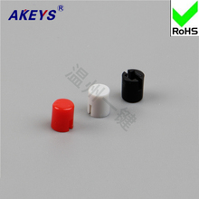 20PCS A30 button cap/yellow red blue white black grey with 7*7/8*8/8.5 self-locking hat 7*7 switch self-locking 8*