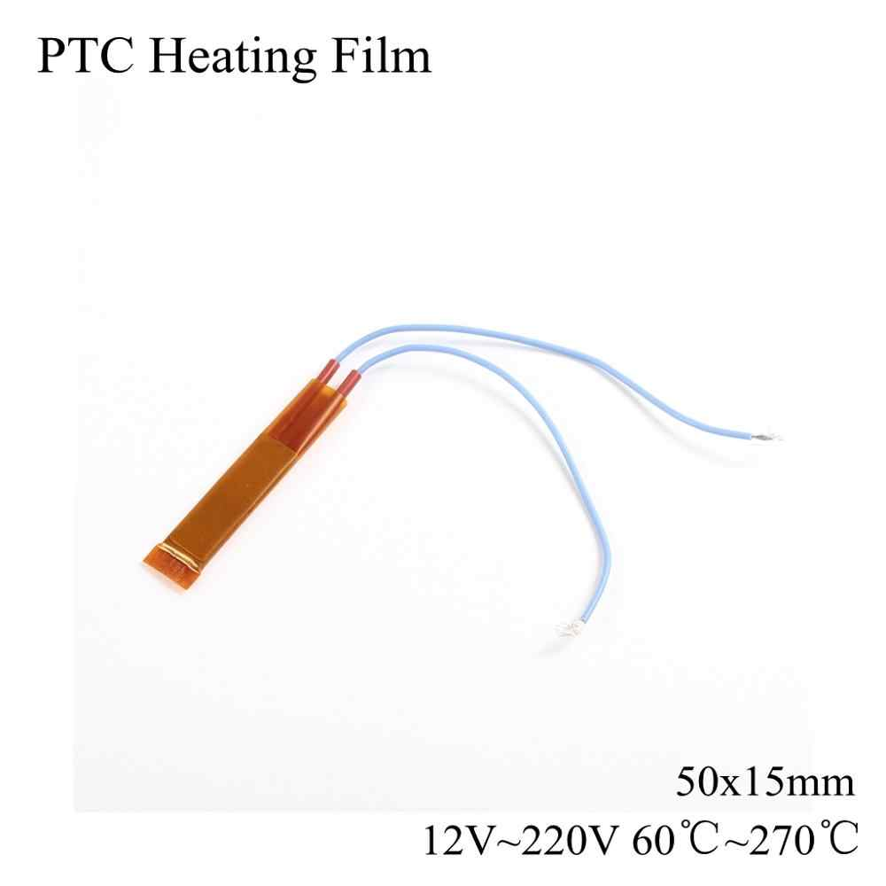 12V 24V 220V PTC Heizung Film Keramik Heizung Air Fan Wärme Thermostat Konstante Temperatur Thermistor Platte Element 12 100 220