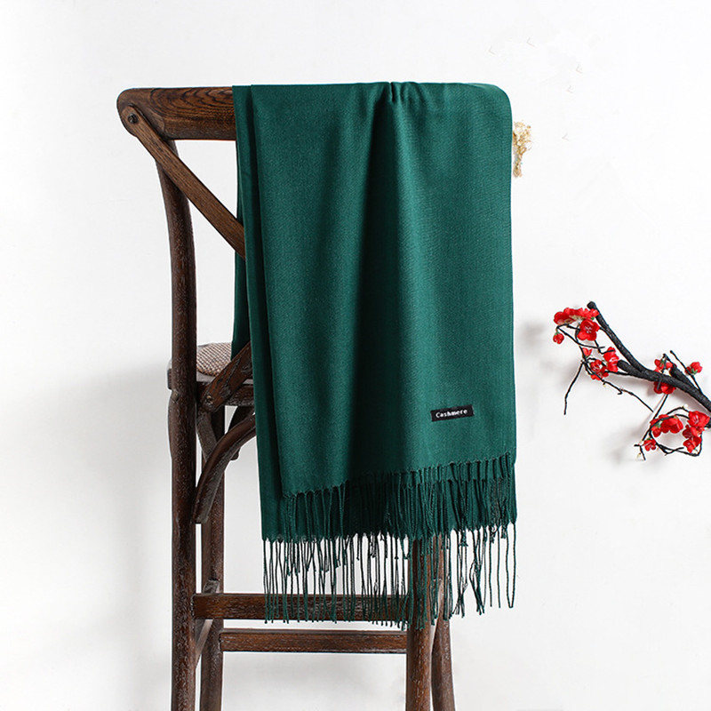 Autumn Winter Thin Long   Scarves   for Women Green Winter Poncho Black Men   Scarf   Female Stole Women Pashmina Ladies Scarfs Shawls