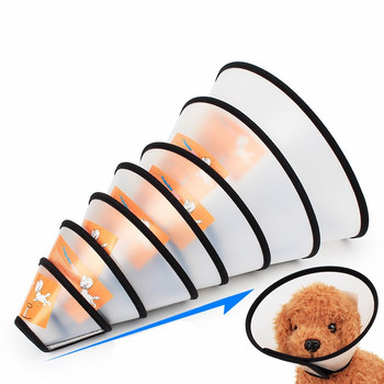 Anti Bite and Anti Lick Protective Cones for Dog Neck Cone for Recovery from Neck Wound or Surgery