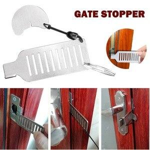 Portable Travel Self-Defense Door Lock Punch-free Hotel Apartment Door Stopper Security Anti-theft Hotel Accommodation Door Lock