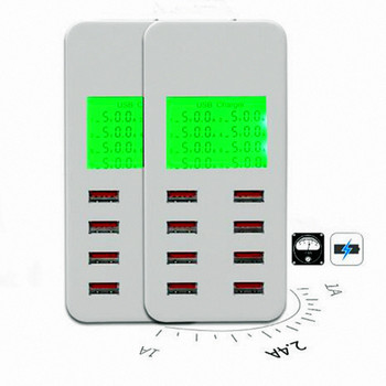 Universal LED portátil 8 puertos USB cargador rápido USB para Android iPhone adaptador teléfono tableta xiaomi samsung A8T