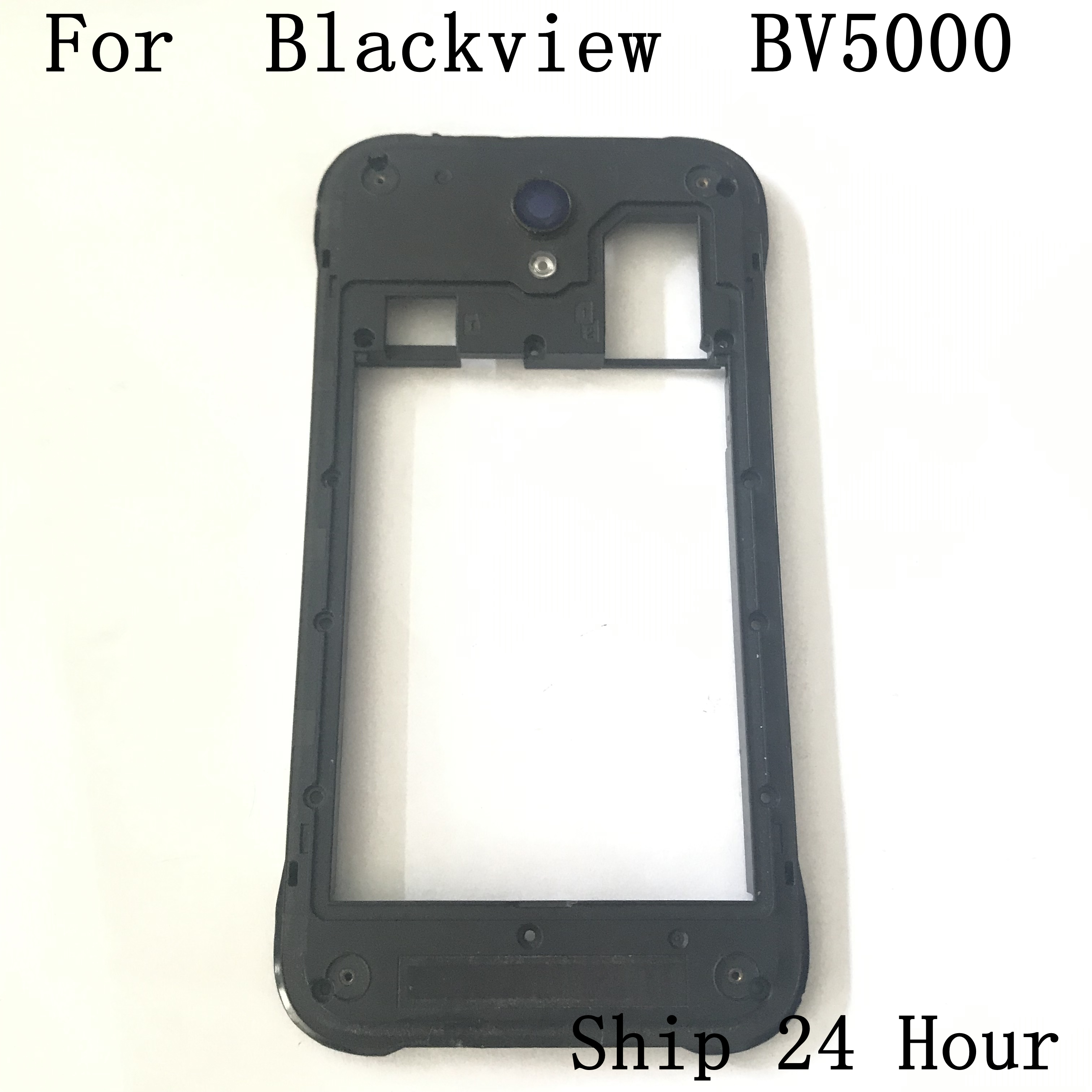 Original Blackview BV5000 Used Middle Frame Shell Case+Volume Up / Down Button+Power Key Button For Blackview BV5000