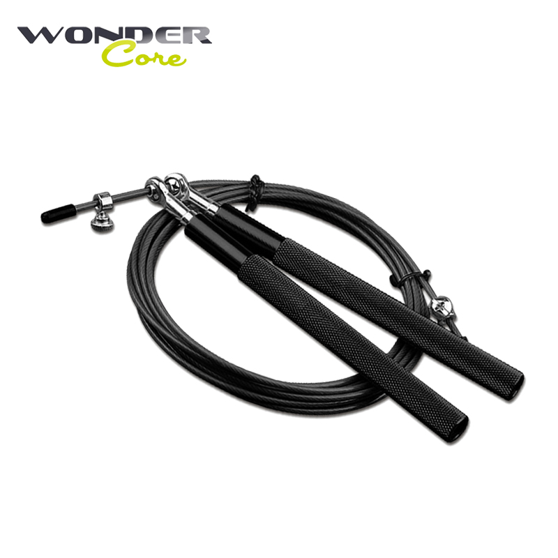 Metal <font><b>Handle</b></font> <font><b>Skipping</b></font> <font><b>Rope</b></font> Adjustable Crossfit Jumping <font><b>Ropes</b></font> Spain MMA Trainer Cable Steel Gym weighted elasticos Equipment image