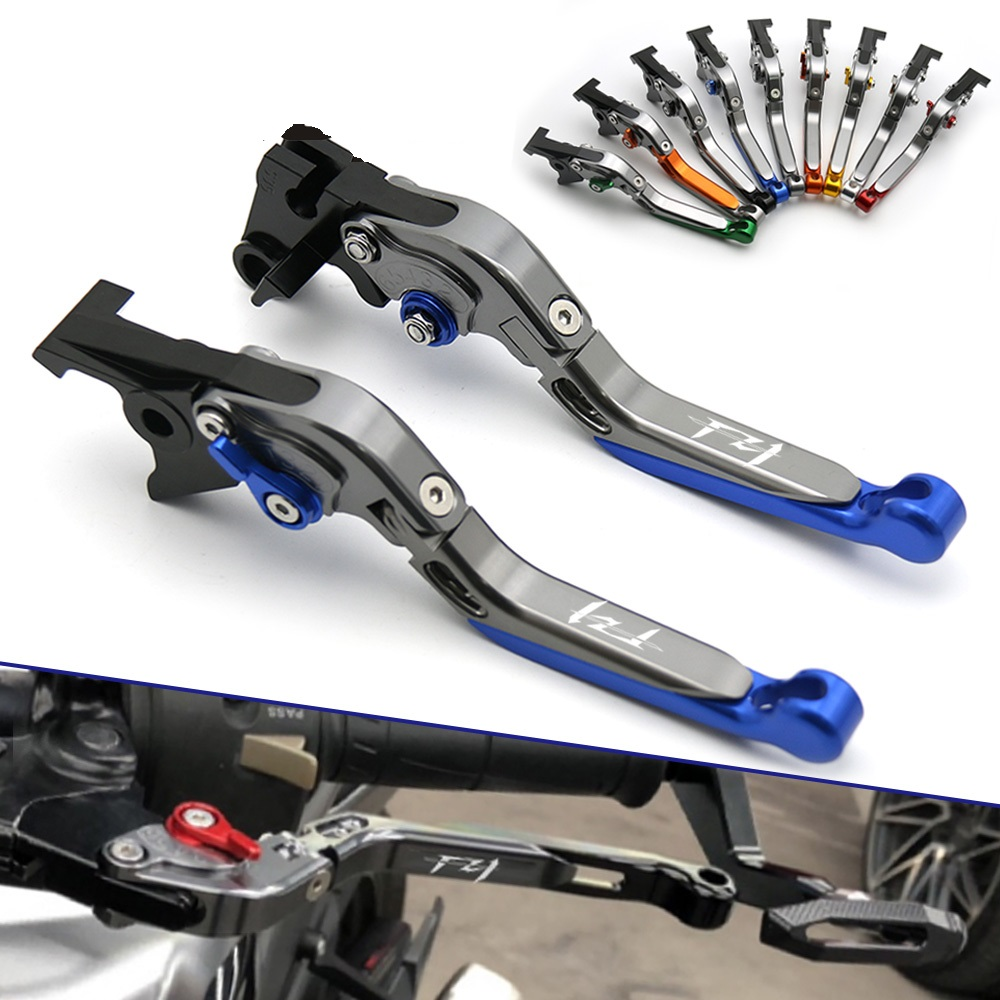 Motorcycle CNC Adjustable Folding Extendable Brake Clutch Lever FOR YAMAHA FZ1 FAZER 2001 2004 2005 Brake Lever Clutch Handle