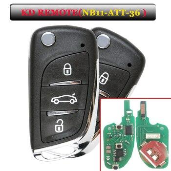 Free Shipping (5 Pcs/Lot)Keydiy KD Remote NB11 3 Button Key with NB-ATT-36 Model for Peugeot,Citroen,DS ETC - sale item Security Alarm
