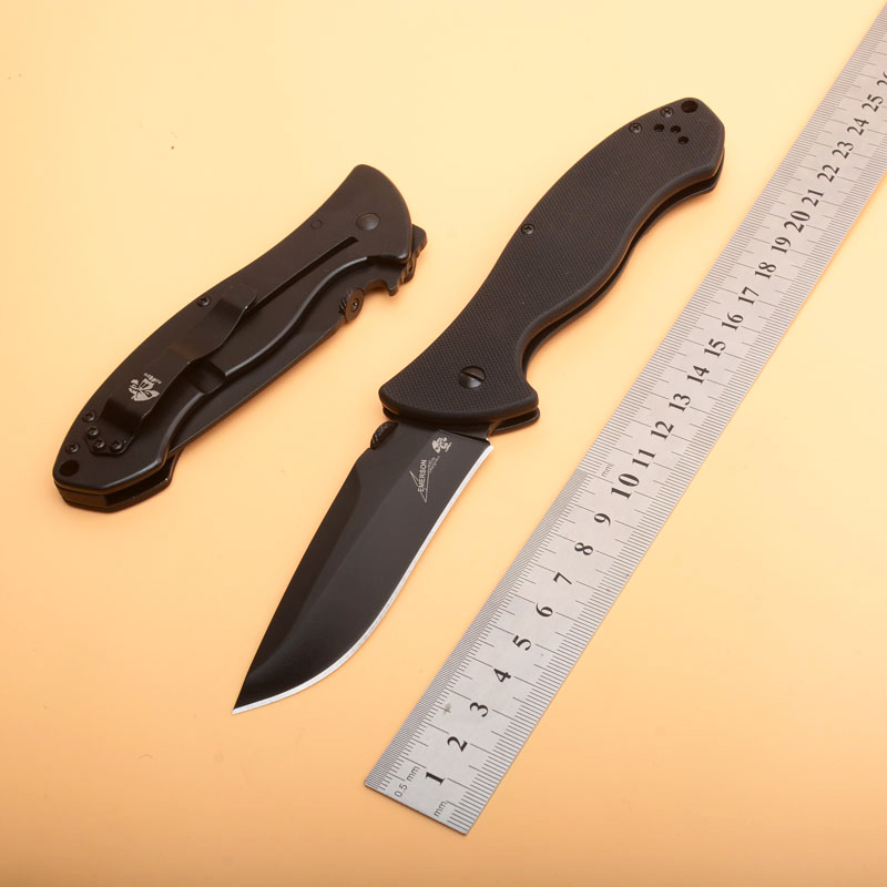 OEM Kershaw 6045 Pocket Folding Knife 8Cr13 Blade G10 Handle Outdoor Hunting Camping Survival Knife Utility EDC hand Tools