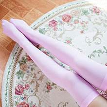 1 Pair Solid Color Fashion Sexy Warm Thigh High Over the Knee Socks Long Cotton Stockings For Girls Ladies Women носки женские#D(China)