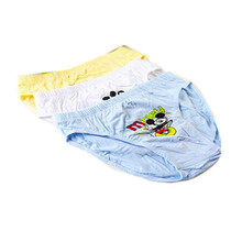 4 pcs/lot Boys Children Underwear Kids 3-12 year Cartoon Cotton Briefs Boy girl Panties Boxer Clothing Girls underwear